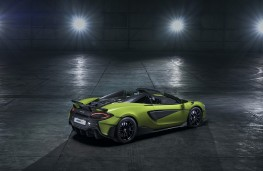 McLaren 600LT Spider, 2019, rear
