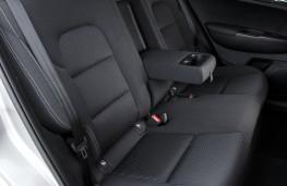 Kia Sportage 1.7 CRDi, rear seats