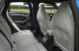 Audi RS 3 Sportback, 2017, rear seats