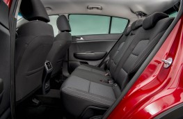 Kia Sportage, 2018, rear seats
