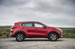 Kia Sportage, 2018, side