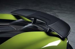 McLaren 600LT Spider, 2019, spoiler