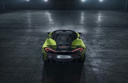 McLaren 600LT Spider, 2019, tail