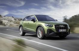 Audi SQ2, 2020, front