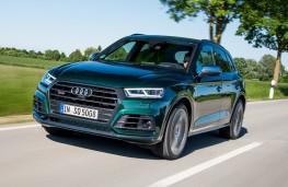 Audi SQ5, 2017, front, action
