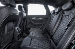 Audi SQ5, 2017, rear seats