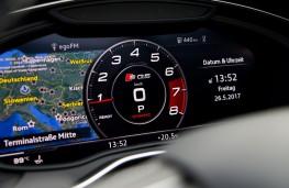 Audi SQ5, 2017, instrument panel