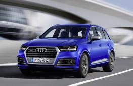 Audi SQ7, front