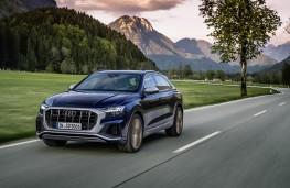Audi SQ8, 2020, front