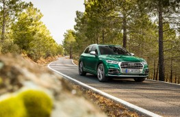 Audi SQ5, 2019, front, action