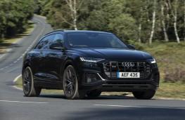 Audi SQ8, 2019, front