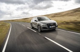 Audi SQ2, 2019, front, action