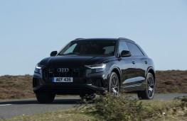 Audi SQ8, 2019, front, action