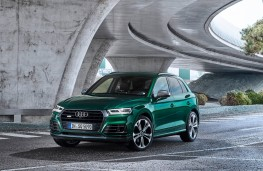 Audi SQ5, 2019, front