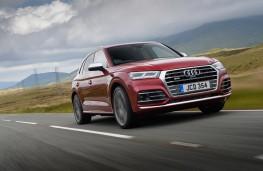 Audi SQ5, 2018, front, action