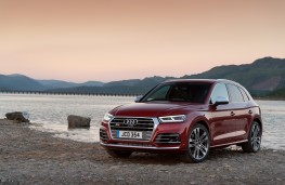 Audi SQ5, 2018, front, static