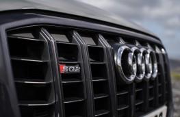 Audi SQ2, 2019, grille