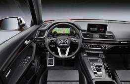 Audi SQ5, 2017, interior