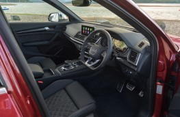 Audi SQ5, 2018, interior