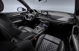 Audi SQ5, 2019, interior