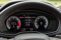 Audi SQ7, instrument panel