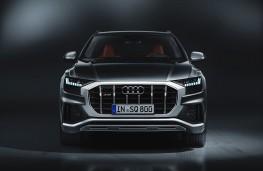 Audi SQ8, 2019, nose
