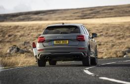 Audi SQ2, 2019, rear