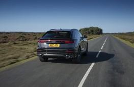 Audi SQ8, 2019, rear