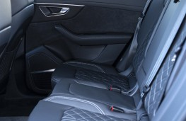Audi SQ8, 2019, rear seats