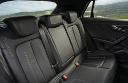 Audi SQ2, 2019, rear seats
