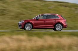 Audi SQ5, 2018, side