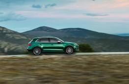 Audi SQ5, 2019, side