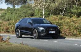 Audi SQ8, 2019, side