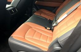 SsangYong Rexton, 2017, rear seats