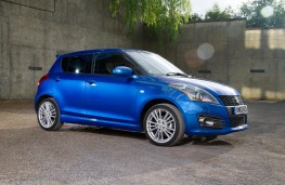 Suzuki Swift Sport 5dr, side