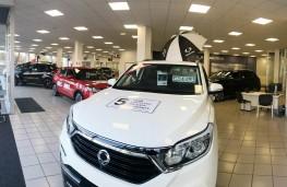 SsangYong dealership, 2018, Frasers of Edniburgh