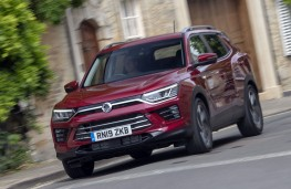 SsangYong Korando Ultimate 2020 front action