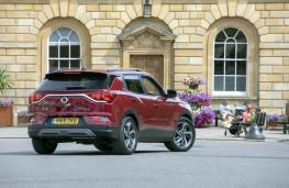 SsangYong Korando, rear static