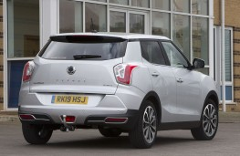 SsangYong Tivoli Ultimate rear threequarters