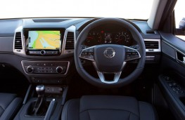 SsangYong Musso, dashboard