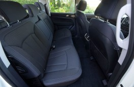 SsangYong Musso EX rear seats