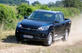 SsangYong Musso Rebel off road