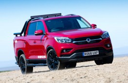 SsangYong Musso Rhino front