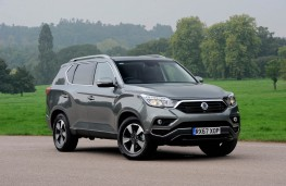 SsangYong Rexton, front static