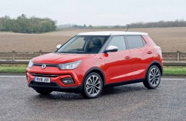 SsangYong Tivoli Ultimate front