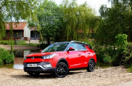 SsangYong Tivoli XLV, static front