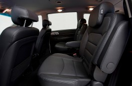 Ssangyong Turismo ELX special edition rear seats