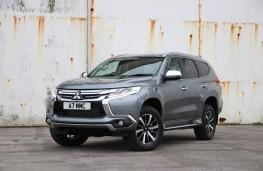 Mitsubishi Shogun Sport, 2018, front
