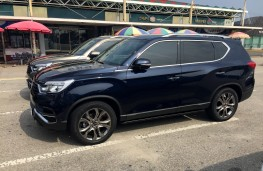 SsangYong Rexton, 2017, side, static