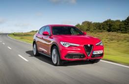 Alfa Romeo Stelvio, 2018, front, action